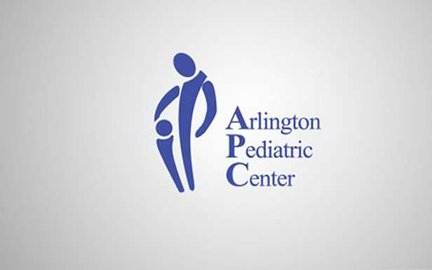 arlington pediatric center shocking logo fail