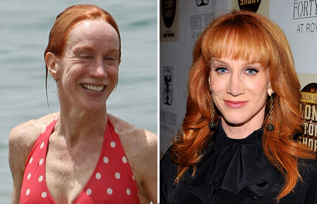 kathy griffin without makeup