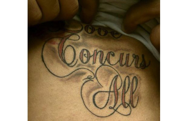 love concurs all hilarious tattoo fail