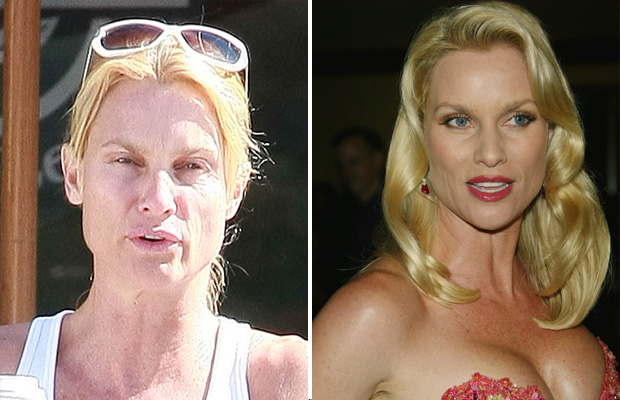 nicolette sheridan without makeup