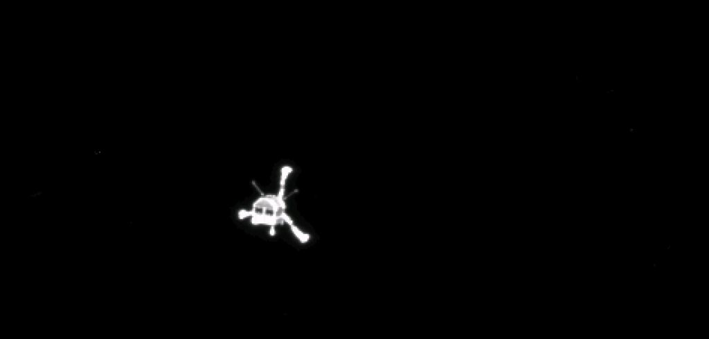 philae after departing from rosetta