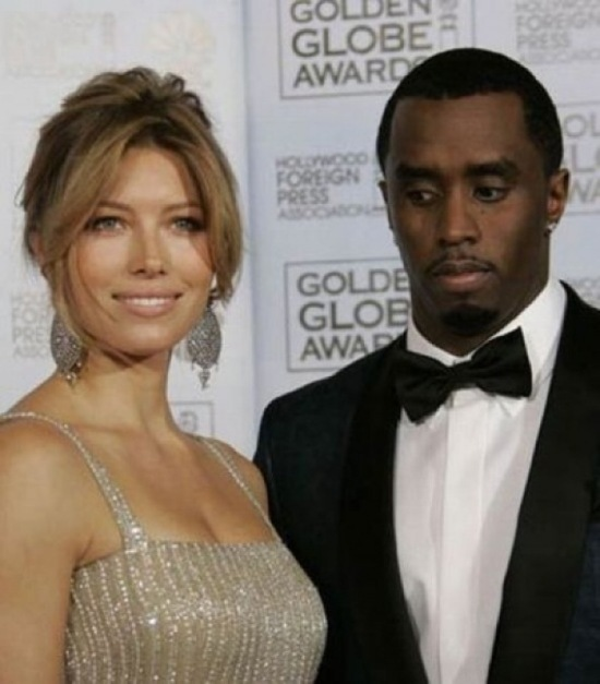 sean puffy coombes caught perving jessica biel