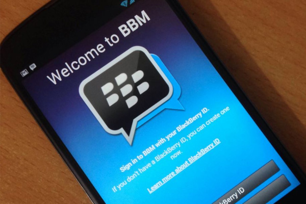 blackberry messenger free text message app