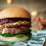 Honest Burgers | Dty aged beef patty, smoked bacon, deep fried Camembert and cranberry sauce