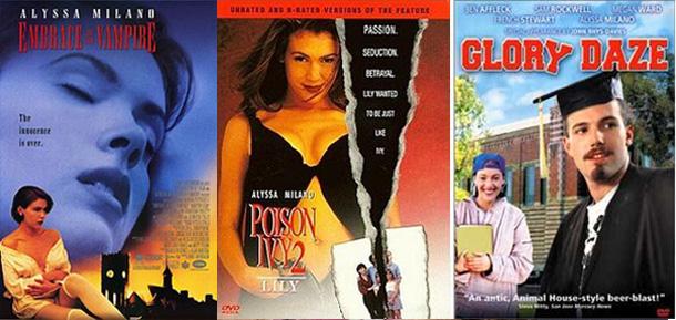 alyssa milano movie posters
