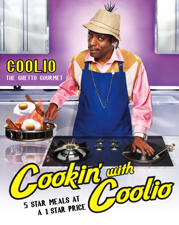 cookin with coolio book cover