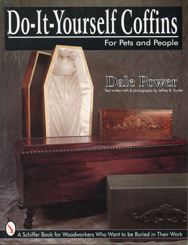 do it yourself coffins for pets and people funny book cover