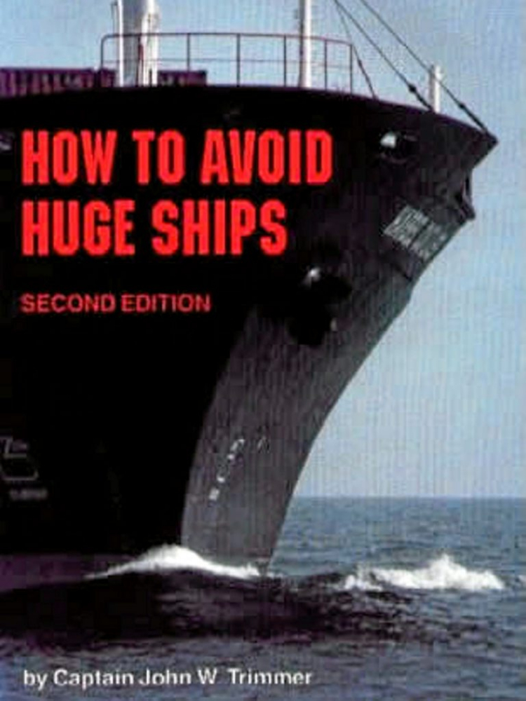 funny book cover | how to avoid huge ships