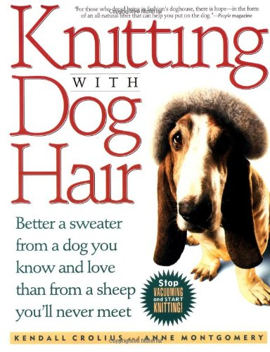 knitting with dog hair book cover