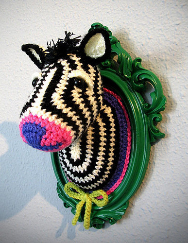 crochet zebra mr x stitch