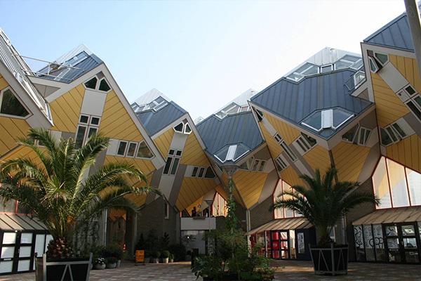 cubehouse cube hotel rotterdam netherlands
