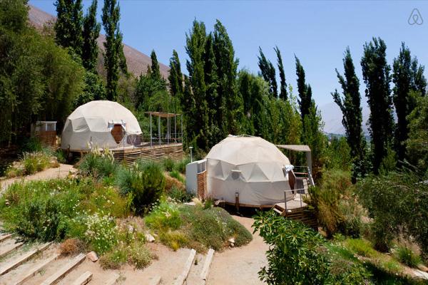 elqui domos astronomical hotel exterior day