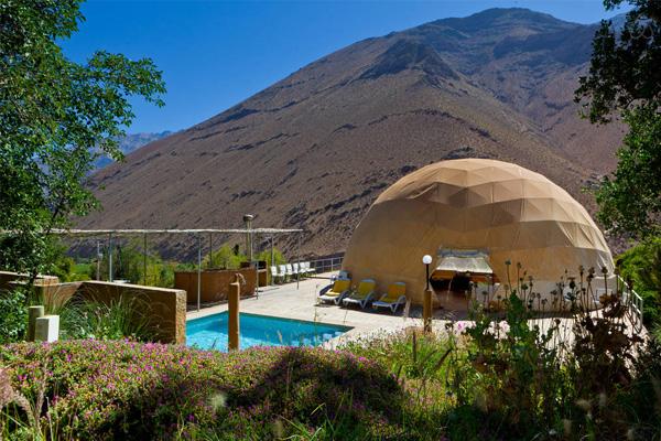 elqui domos astronomical hotel exterior pool