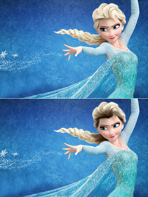 elsa with roots showing realistic disney princesses