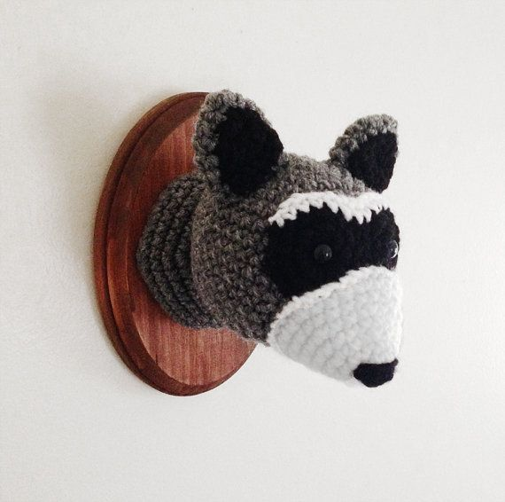 raccoon faux taxidermy etsy