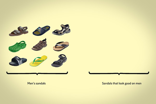 mens sandal funny facts