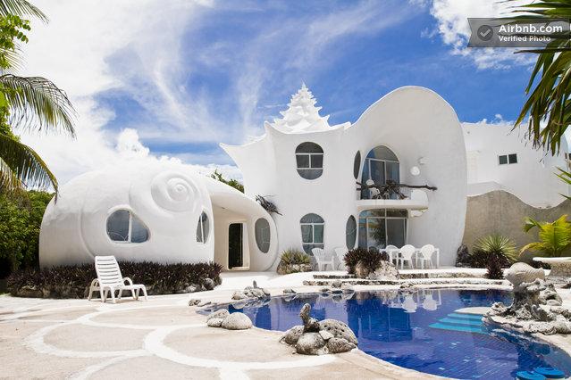 seashell house mexico