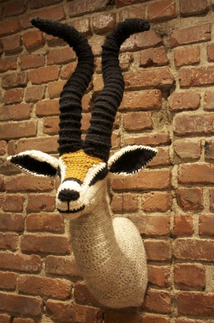 springbok crochet taxidermy nathan vincent