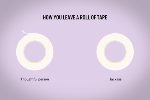 sticky tape funny facts
