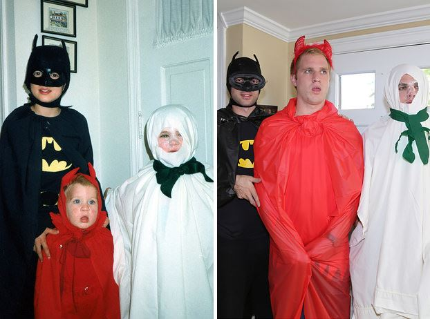 these brothers recreate childhood halloween photo