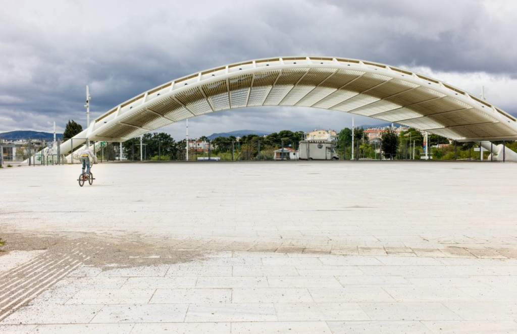 athens olympic structures are falling into ruin