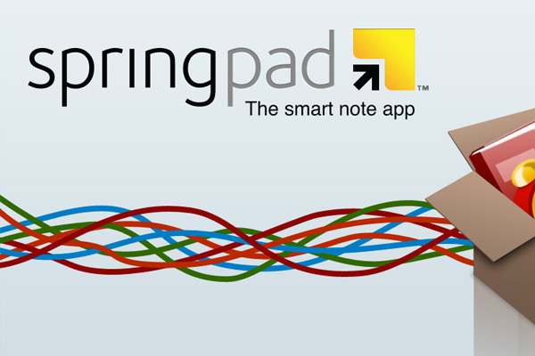 springpad best note taking app