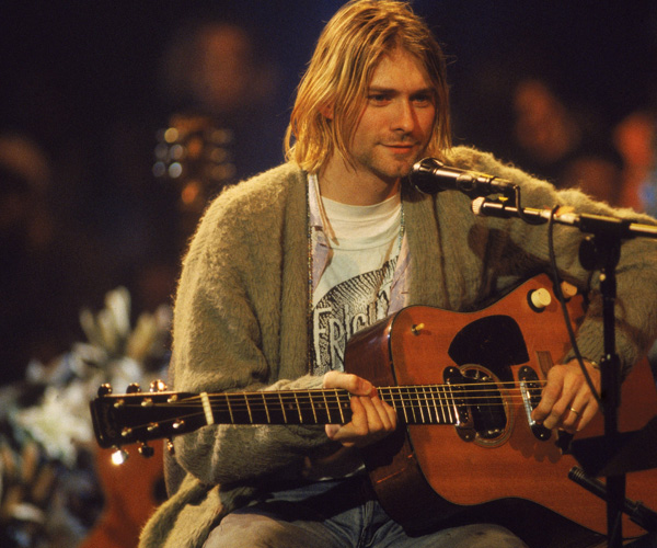 kurt cobain said nirvana fourth album would be more acoustic