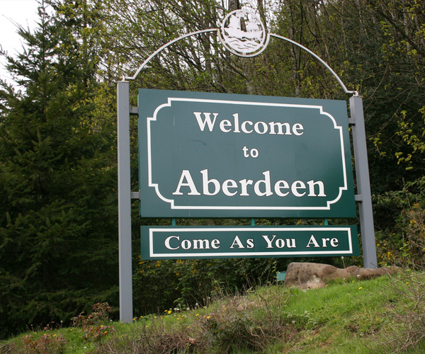 welcome to aberdeen come as you are