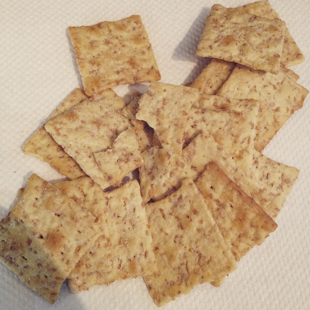 My kid can't eat this because all of the intact crackers have been contaminated by the broken cracker
