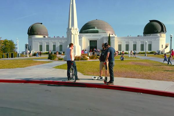 how to get to griffith observatory without car