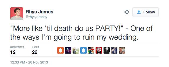 funny wedding twitter 09