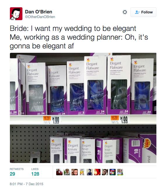 funny wedding twitter 19