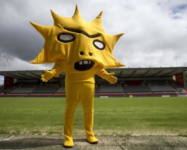 Is This The Worlds Worst Sports Mascot No There's Worse