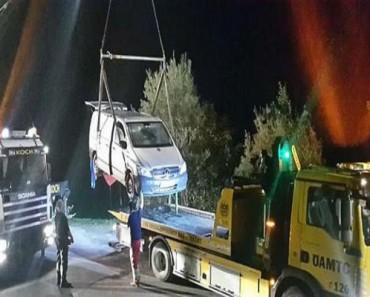 Randy Couple Left Red-Faced As Van Sinks In Austrian Lake During Romp