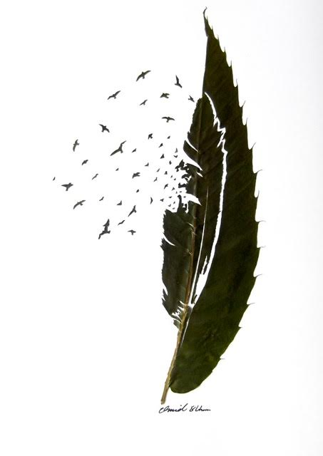 Omid Asadi leaf art-08