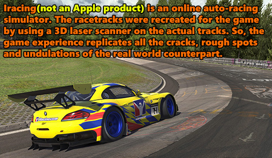 racing game design trick