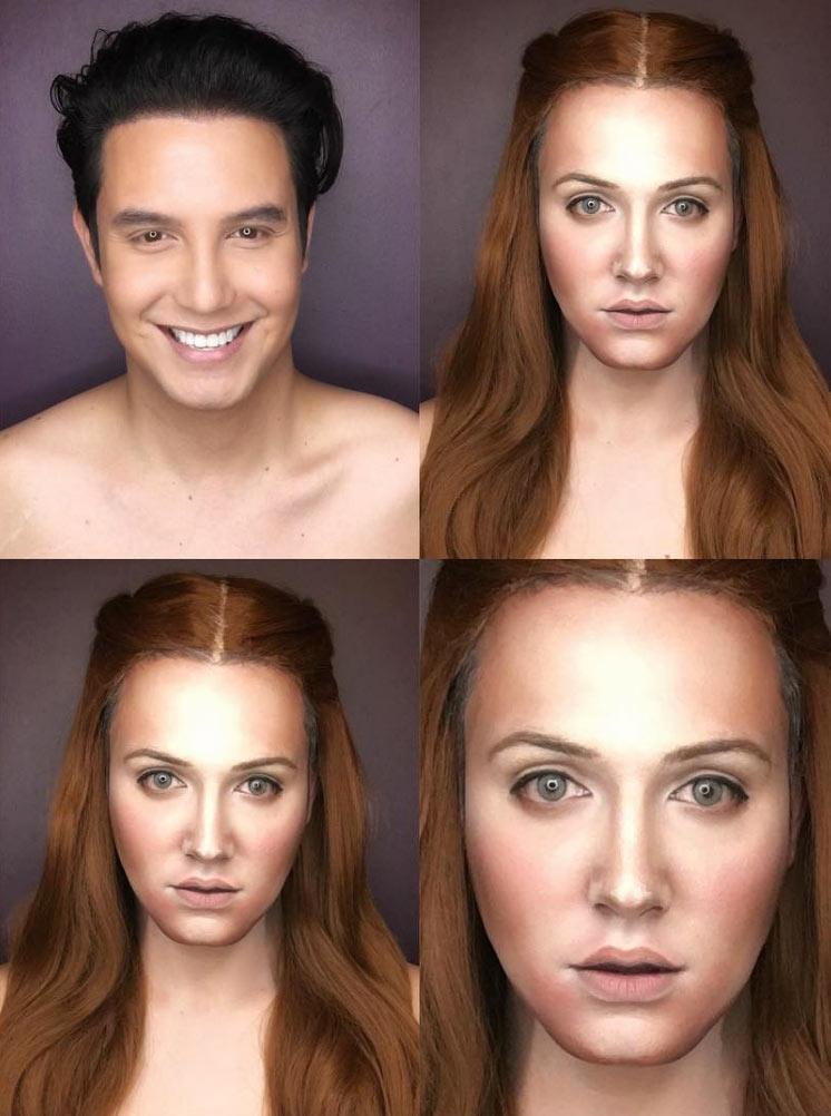Sansa Stark makeup