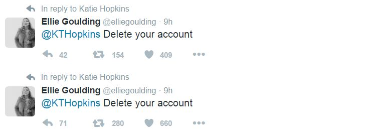 ellie-goulding-katie-hopkins-delete-your-account