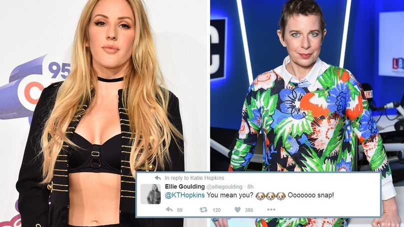 ellie-goulding-katie-hopkins-fight